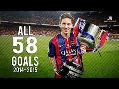 Lionel Messi ● All Goals ● 2014/2015 HD