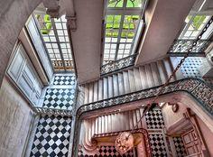 L'escalier Questel, château de Versailles by Ganymede2009, via Flickr