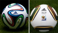 Which one's better Jabulani, the official football for FIFA 2010 or Brazuca, the official football for ongoing FIFA 2014? Read here and leave us your views…  http://globalhop.indiaartndesign.com/2014/06/from-jabulani-to-brazuca.html