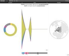 Interactieve wereldwijde realtime gelukskaart op basis van tweets | Twittermania