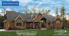 Amicalola Cottage House Plan 05168, Front Elevation, Mountain Style House Plans, Craftsman Style House Plans