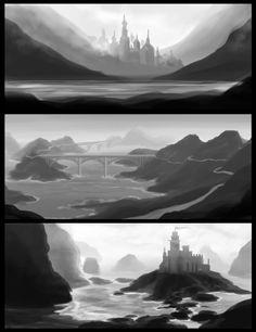 Environment Thumbnails by lisaayla on DeviantArt