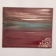 Color Blending Canvas Painting