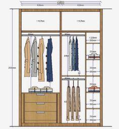 Wardrobe Interior Design, Custom Closet Design, Wardrobe Door Designs, Wardrobe Design Bedroom, Bedroom Furniture Design, Closet Designs, Closet Bedroom, Modern Wardrobe, Wardrobe Cabinets