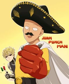 Juan punch man   One-Punch Man   Know Your Meme