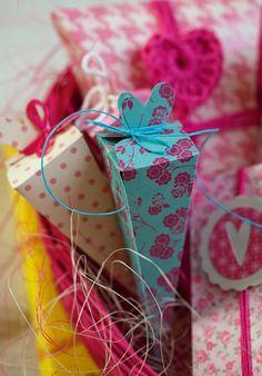 diy paper craft fold paper - 101ideer.se