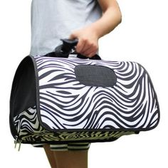 S Size Carry Bag Sweet Cute Pet Home Dog Cat Carrier House Travel---Zebra >>> You can find out more details at the link of the image.