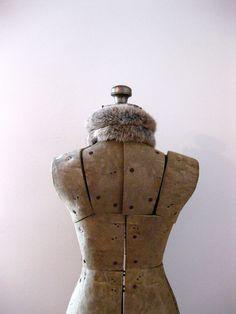 Vintage Dress Form.