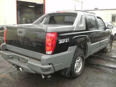 2002 Chevrolet Avalanche 1500 Damaged Black Chevy. These were, & still are, imported new & converted to RHD .