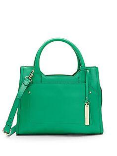 Kylie Leather Satchel Bag
