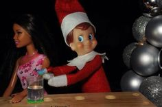 naughty Elf on the Shelf!