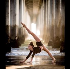 Kalani hilliker wish I could be as flexible as her