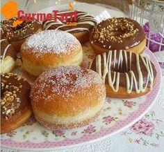 Donut tarifi - Yağı içine çekmeyen yumuşacık kolay bir tarif. Sadece biraz zaman, donut dinlenmeyi çok sever, bol bol dinlendirin :)
