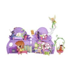 Disney Fairies Ultimate Fairy House - Tink's Pixie Cottage Disney http://www.amazon.com/dp/B004OH2AW6/ref=cm_sw_r_pi_dp_XbL0vb135NQ5W