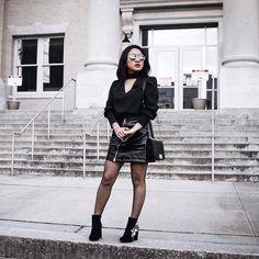 """1,315 Likes, 24 Comments - Jessica Alejandro (@joryckyt) on Instagram: """"Amó los colores vibrantes pero cuando uso negro me gusta hacerlo en grande 😎◼️◾️⬛️ 😎 Más fotos de…"""""""