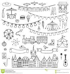 Image result for festival doodles