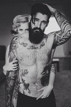 Beard n Tattoos : Photo