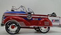 Fire Truck Pedal Car 1930s Ford Fire Engine Rare Vintage Classic Midget Model #HighEndInvestmentGradeDiecastModelArt