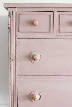 Chalk Paint Brushes, Chalk Paint Furniture, Arabesque, Dusty Rose, Dusty Pink, Miss Mustard Seeds, Color Lines, Milk Paint, Tea Roses