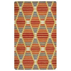 Rizzy Home Multi Colored Rug In Wool 8'x10', Multicolor