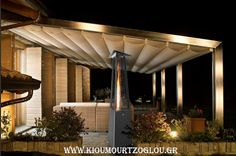 Find out all of the information about the ITALKERO product: floor-mounted infrared patio heater FALÒ EVO. Decor, Pergola With Roof, Renovations, Patio Heater, Canopy, Outdoor Decor, House, Home Decor, Room Decor