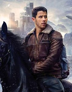 Now we offer nick jonas jumanji the next level character alex brown color shearling collar flight jacket in such an amazing price…. Nick Jonas, Jonas Brothers, Jumanji Movie, Brown Jacket, Jacket Men, Bomber Jacket, Welcome To The Jungle, Comedy Films, The Next