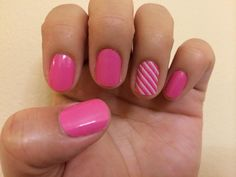 Bubble Gum and Skinny Pink Jamberry Nail Wraps! Check them out at www.MarySeto.JamberryNails.net!