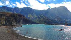 El Puerto de Las Nieves y el Macizo de Tamadaba desde Agaete Gran Canaria by El Coleccionista de Instantes . on 500px