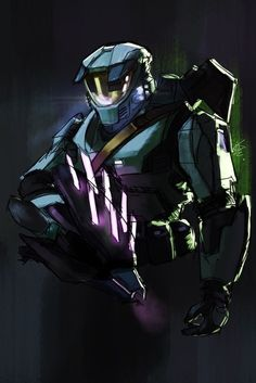 Drawing of my favorite version of the Chief Halo Master Chief Helmet, Master Chief Armor, Master Chief Costume, Master Chief And Cortana, Mad Max, Halo Master Chief Collection, Halo Reach, Red Vs Blue, Gaming Wallpapers