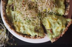 Avocado Toast, Quiche, Cabbage, Vegetables, Breakfast, Food, Red Peppers, Morning Coffee, Vegetable Recipes