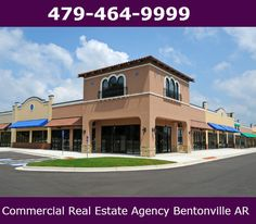 Commercial real estate for sale or lease in Northwest Arkansas.