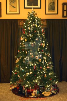 """The Next Step - Picture of the Day: 12/25/14 - """"Christmas Eve 2014"""" Our 2014 Christmas tree. Merry Christmas!"""