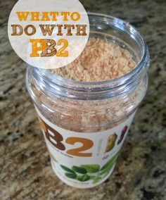 Healthy Mommy - Body and Soul: What To Do With PB2