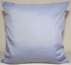 Poszewki na poduszki ozdobne jasnoniebieskie