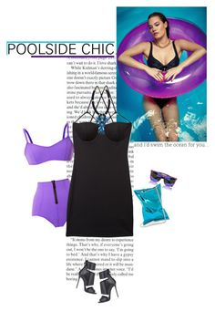 """""""poolside chic"""" by helena99 ❤ liked on Polyvore"""