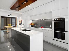 modern-white-brown-grey-high-gloss-kitchen-table-cabinet-sink-oven-lamp-lighting-door-window