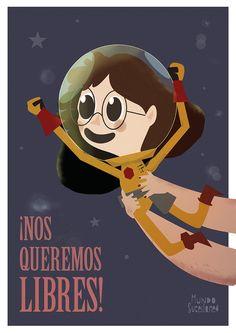 Woman, Illustration, Movie Posters, Movies, Equality, Live Life, Feminism, Destiny, Te Quiero