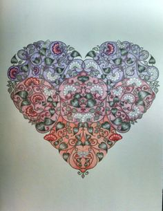 Secret garden heart by Wendy
