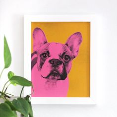 Follow this simple tutorial to make a pop art-inspired portrait of your pet!