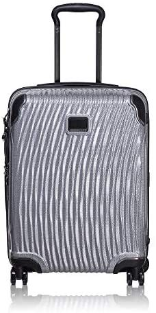 Light Gray Palm Leaves Travel Luggage Protector Case Suitcase Protector For Man/&Woman Fits 18-32 Inch Luggage