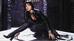 """Ashley Scott in the short lived, but fun series """"Birds of Prey"""""""