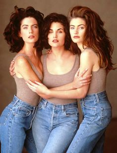 Circa '91... and some serious high-waisted jeans.