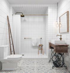 Support de machine à coudre pour lavabo Houzz via Nat et nature