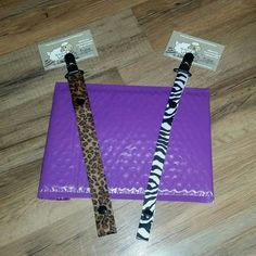 Leopard print and zebra print on their way to Michigan today!!