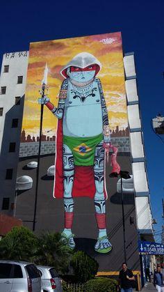 Crânio em São Paulo