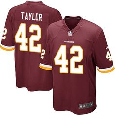 Youth Nike Washington Redskins Will Compton Game Burgundy Red Team Color  NFL Jersey 03a1388a1