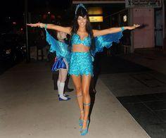 My 21st Rio blue bird costume!