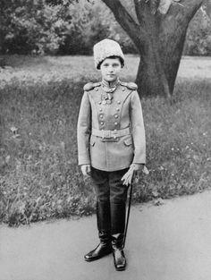 """ Tsarevich Alexei Nikolaevich. Scan by Tatiana Z. """
