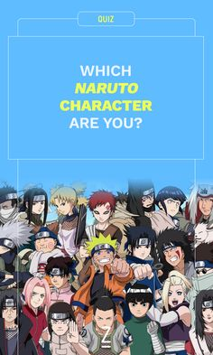 Which 'Naruto' Character Are You?