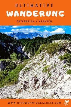 """Der Mallestiger Mittagskogel (slow. Maloško poldne) liegt in den Karawanken an der österreichisch-slowenischen Grenze. Wir haben die anspruchsvolle Tour mit leichtem Klettersteig für euch getestet! Außerdem verraten wir, was ein """"Zwölf-Uhr-Zeigeberg"""" ist. Happiness, Travel, Outdoor, Europe Travel Tips, Road Trip Destinations, Tours, Outdoors, Bonheur, Viajes"""